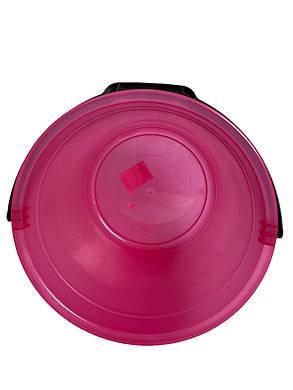 Ведро мерное 12 л розовый, фото 2