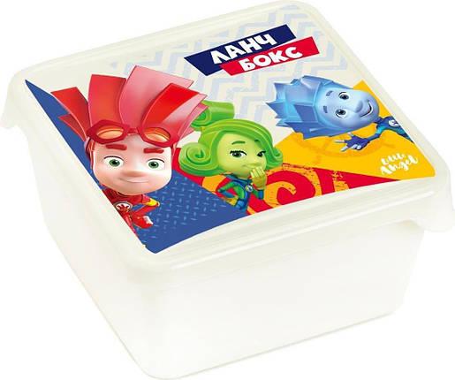 """Дитячий контейнер для продуктів """"ФИКСИКИ"""", 450мл, фото 2"""
