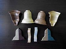 Дуб рустик плинтус и комплектующие под проводку BS29, фото 2