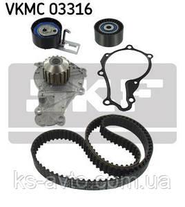 Водяний насос + комплект зубчастого ременя SKF VKMC03316