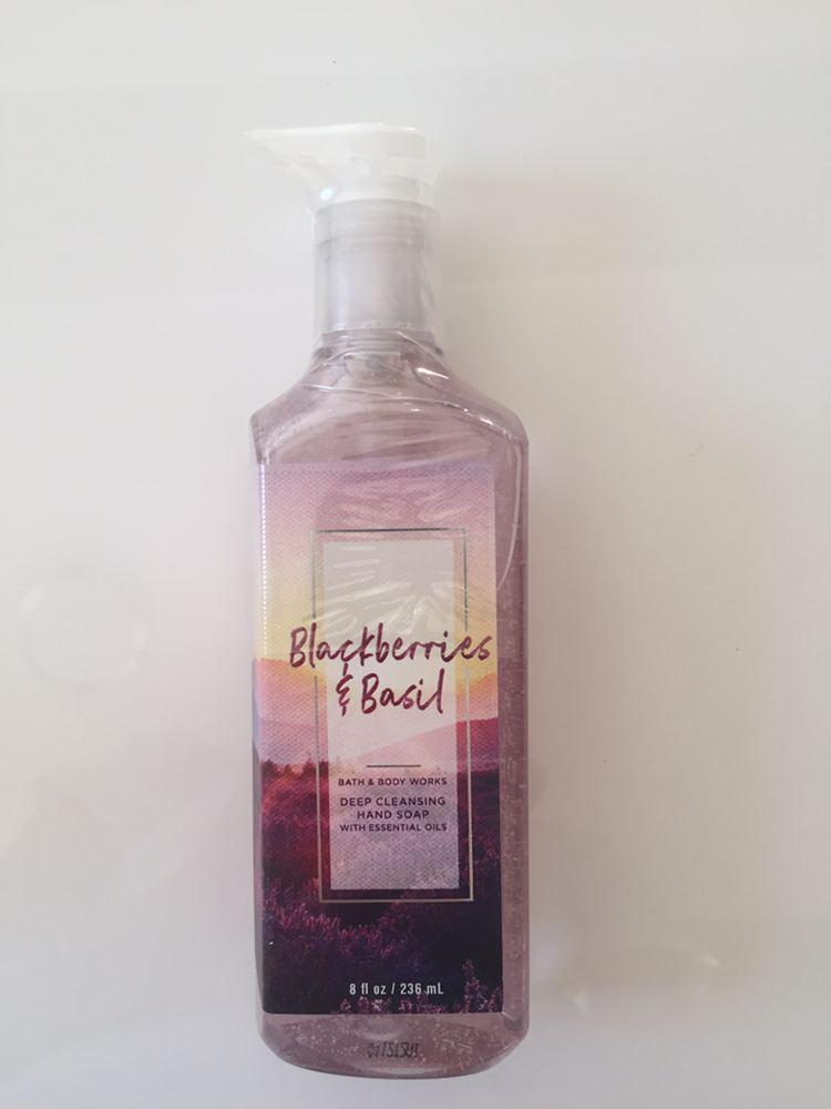 Гель - мыло для рук Blackberry & Basil Bath and Body Works