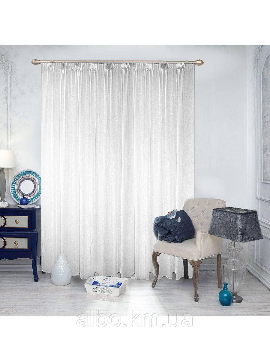 Тюль однотонный из кристалона для зала спальни кухни, тюль из кристалона для спальни детской комнаты, нежный