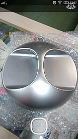Зеркало круглое заднего вида-серебро MIRROR YB-509