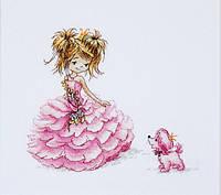 """Набор для вышивания крестом """"Luca-s"""" B1056 Принцесса"""