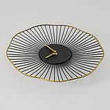 Настінні годинники Yoko аналогові чорні 35см 1021291, фото 2
