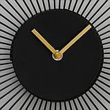 Настінні годинники Yoko аналогові чорні 35см 1021291, фото 3
