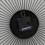 Настінні годинники Yoko аналогові чорні 35см 1021291, фото 4