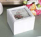 Шкатулка для украшений квадратная 258067А, фото 2