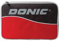 Чехлы для настольного тенниса Donic Чехол Salo Plus 818520 (Красный)