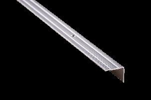 Пороги алюминиевые 3А 0,9 метра серебро 23х18мм, фото 2