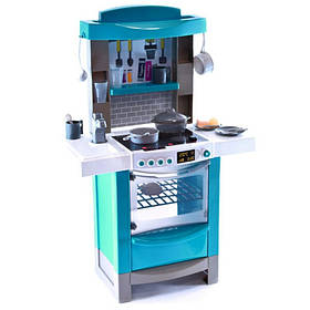 Детская Интерактивная кухня Мастер-Шеф с эффектом кипения Magic Bubble + посудка + духовка + свет и раковина