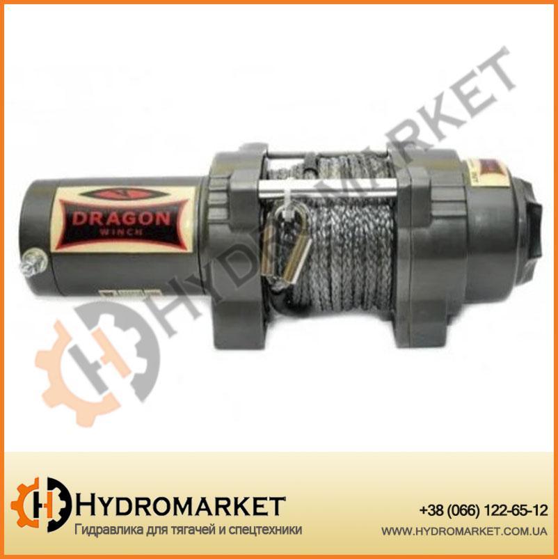 Лебедка для квадроцикла электрическая DWH 4500 HD synthetic Dragon Winch