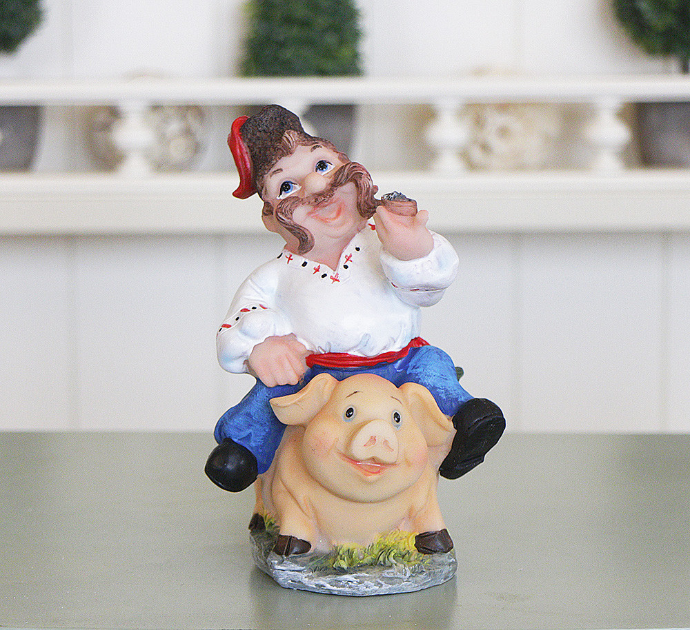 "Копилка ""На свинье"" ZY12362-2"