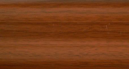 Плинтус с кабель  каналом и мягким краем. BS08 Хна, фото 2
