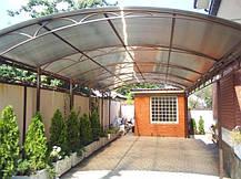Поликарбонат сотовый 6мм зеленый, фото 2
