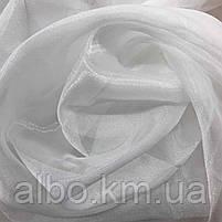 Тюль однотонный из кристалона для зала спальни кухни, тюль из кристалона для спальни детской комнаты, нежный, фото 3