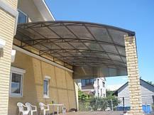 Полікарбонат стільниковий 10мм доставка з Дніпропетровська, фото 3