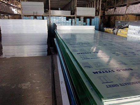 Поликарбонат Сотовый поликарбонат 4-8 мм прозрачный и цветной со склада в Днепропетровске, фото 2