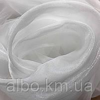 Готовий турецький тюль з кристалона ALBO 300x270 cm Білий (T-KR-3), фото 3