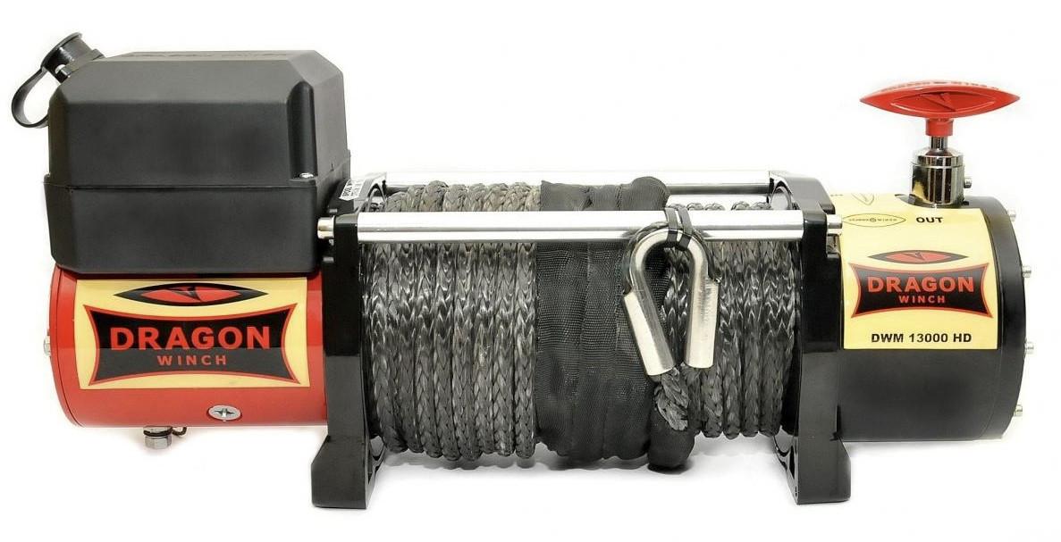 Лебедка автомобильная электрическая Dragon Winch DWM 12000 HD СИНТ