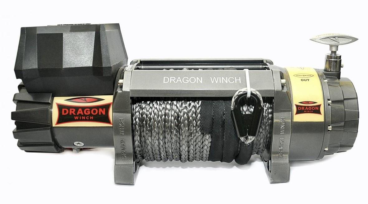 Лебедка автомобильная электрическая Dragon Winch DWH 12000 HD СИНТ