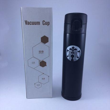 Термос Starbucks zk-b-106, термокружка чорна
