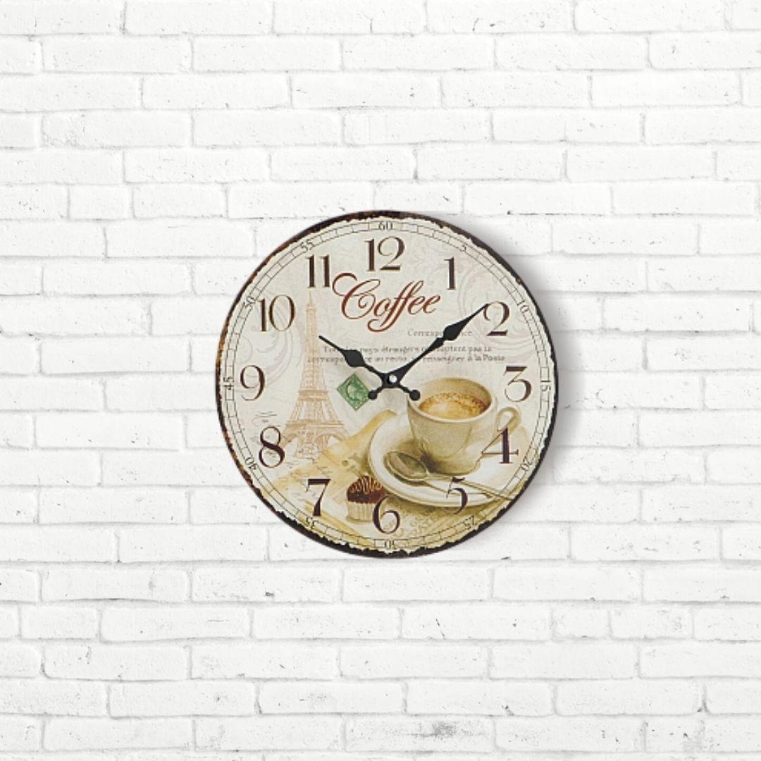 Настенные часы Кофе МДФ 4258800
