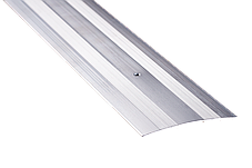 Порог для пола алюминиевый 11А 1,8 метра тик 3х80мм, фото 2