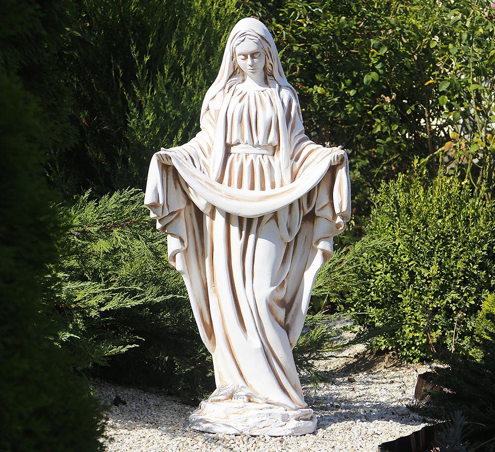 Садовая фигура Покрова 98х52х28 см ССП00004-Н скульптура для сада статуя Божья Матерь Богородица