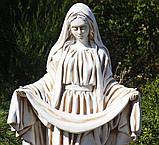 Садовая фигура Покрова 98х52х28 см ССП00004-Н скульптура для сада статуя Божья Матерь Богородица, фото 3