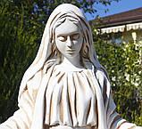 Садовая фигура Покрова 98х52х28 см ССП00004-Н скульптура для сада статуя Божья Матерь Богородица, фото 4