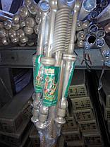 Карниз 2,8 метра двойной трубчатый металлопластиковый, ассортимент цветов, доставка по Украине, фото 2