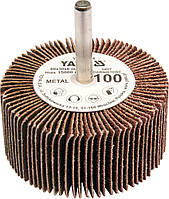 Круг шлифовальный лепестковый для дрели YATO 60 х 30 х 6 мм К60