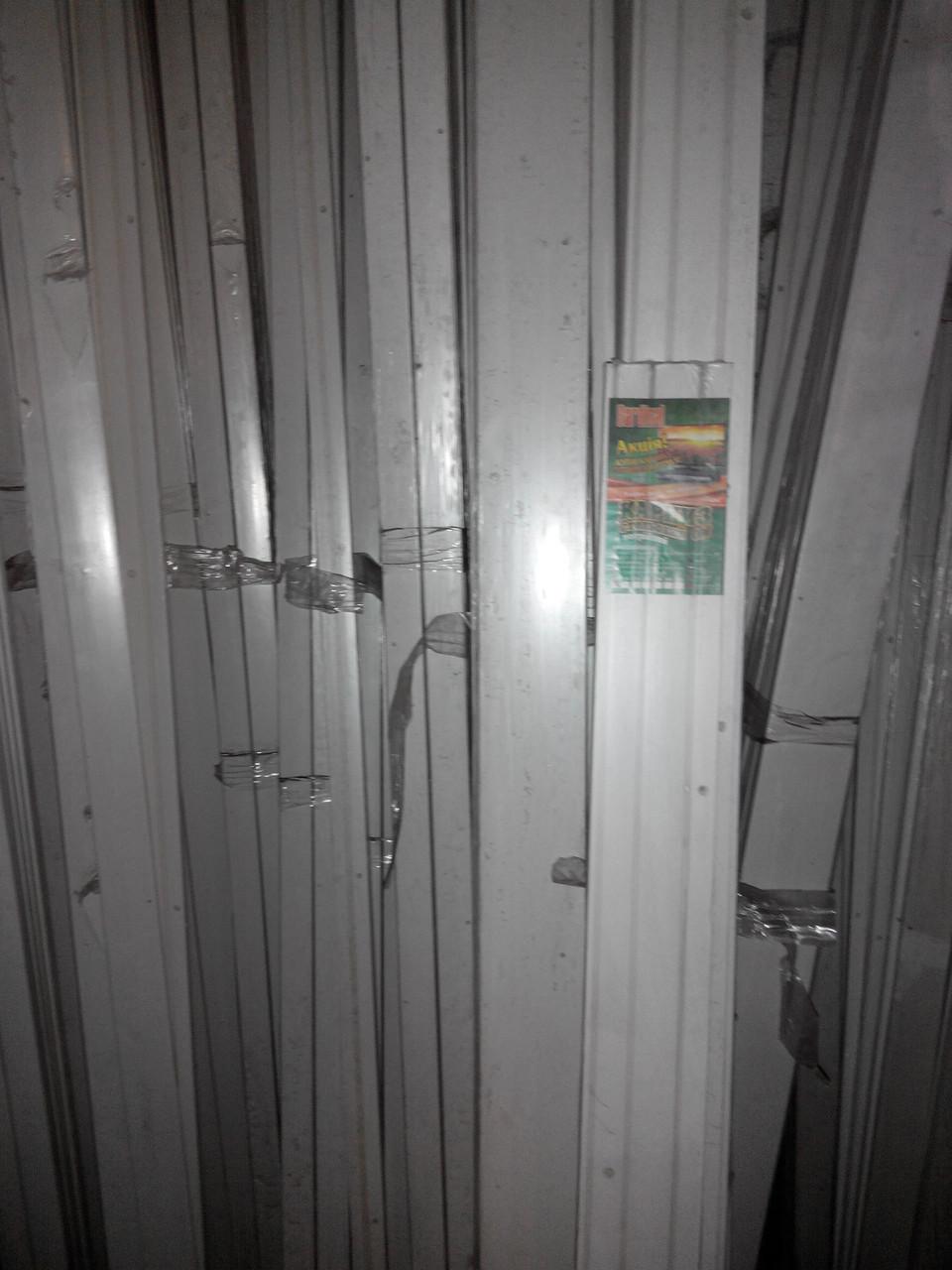 Карниз 3м двойной потолочный пластиковый с комплектующим со склада в Днепропетровске , доставка по Украине - фото 3