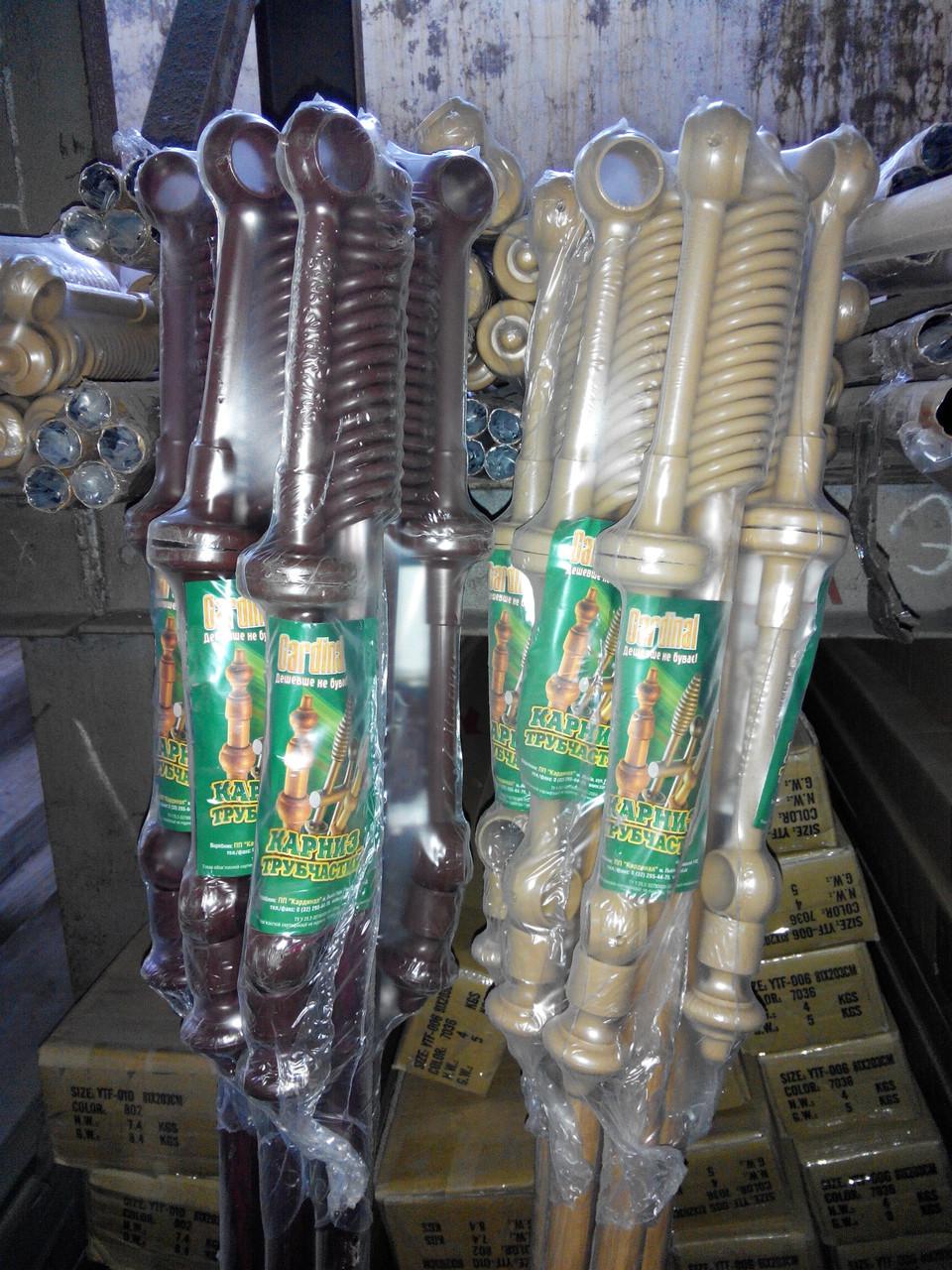 Карниз 3м двойной потолочный пластиковый с комплектующим со склада в Днепропетровске , доставка по Украине - фото 4