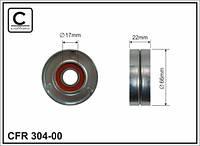 АНАЛОГ для Opel 1340268  GM 55563512 Ролик натяжной приводного ремня без натяжителя для 1340268 6340558 6340552 55563512 55350422 55556090 OPEL