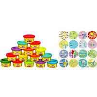 Пластилін Play-Doh (до Плей) Набір для свята (15 баночок по 28 г) Hasbro (Хасбро), фото 1