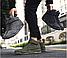 Высокие кроссовки мужские демисезонные, цвет хаки, фото 6
