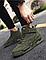 Высокие кроссовки мужские демисезонные, цвет хаки, фото 8