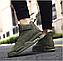 Высокие кроссовки мужские демисезонные, цвет хаки, фото 10