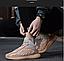 Трендовые демисезонные мужские кроссовки, цвет беж, фото 4