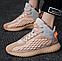 Трендовые демисезонные мужские кроссовки, цвет беж, фото 5