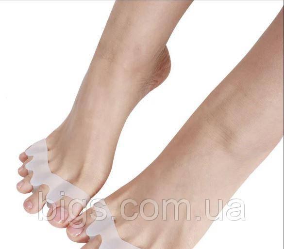 Силиконовый разделитель для пальцев ног
