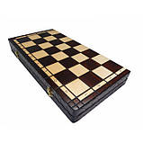 Шахматы КОРОЛЕВСКИЕ большие 440*440 мм СН 111, фото 4