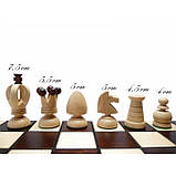 Шахматы КОРОЛЕВСКИЕ большие 440*440 мм СН 111, фото 5