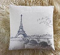 Подушка декоративная Париж GM09-J8025 размеры 40*40 см