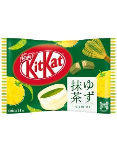 Kit Kat Yuzu Matcha Упаковка