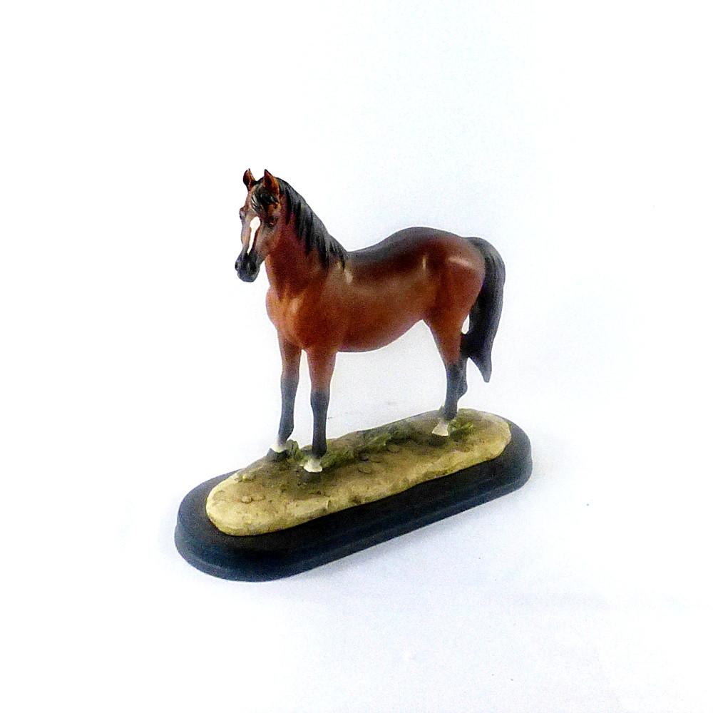 Статуэтка Конь коричневый SM00556A фигурка лошадь 22*19*9 см