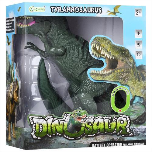 Динозавр игрушечный интерактивный с подвижными деталями