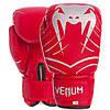 Перчатки боксерские для тренировок на липучке VENUM Искусственная кожа Красный (СПО MA-6751) 6 унций